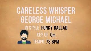 Careless Whisper - Karaoke Backing Track - Lower Key