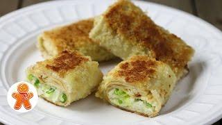 Блинчатые Пирожки с Рисом и Яйцом из Советского Поварского Учебника