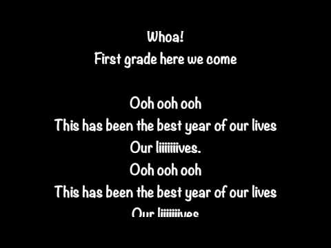 Kindergarten Graduation Song: Best Year Of Our Lives