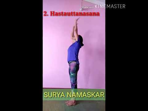 surya namaskar 🌞🙏 sun salutation  youtube