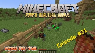 Minecraft Survival - How to build a Parkour Play Park [31]