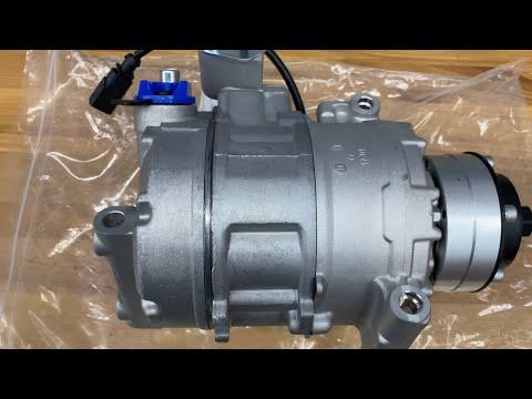 Lamborghini Gallardo AC compressor  replacement  2of 3