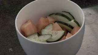Cucumber & Cantaloupe Salad : Cucumber Salad Ideas