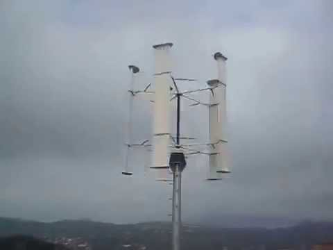 IYSERT ENERGY ®5kw vertical axis wind turbine