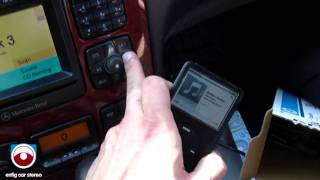 Mercedes 2001 S-Class iPod USB Adapter w command radio - Dension GWL1DB1
