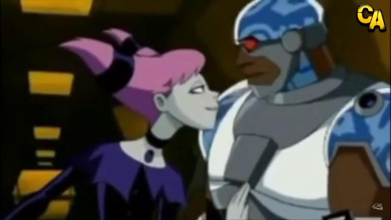 Teen Titans - Jinx Flirts With Cyborg - Youtube-6733