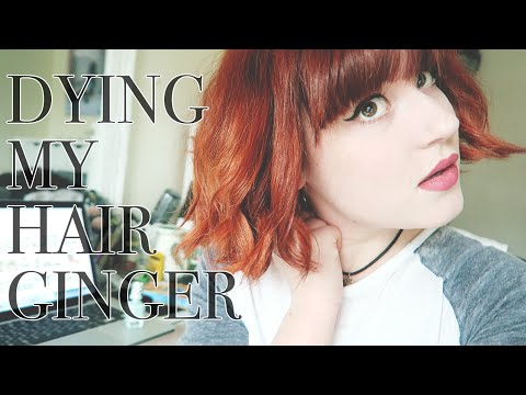 Bleaching & Dying My Hair Ginger - Cruelty Free