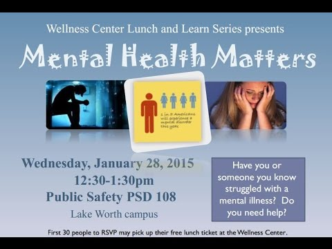 Wellness Center Lunch & Learn Series - Mental Health Matters