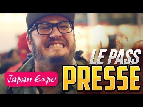 LE PASS PRESSE - JAPAN EXPO 2013