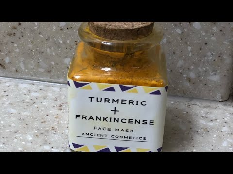 Turmeric & Frankincense face Mask (Ancient Cosmetics)