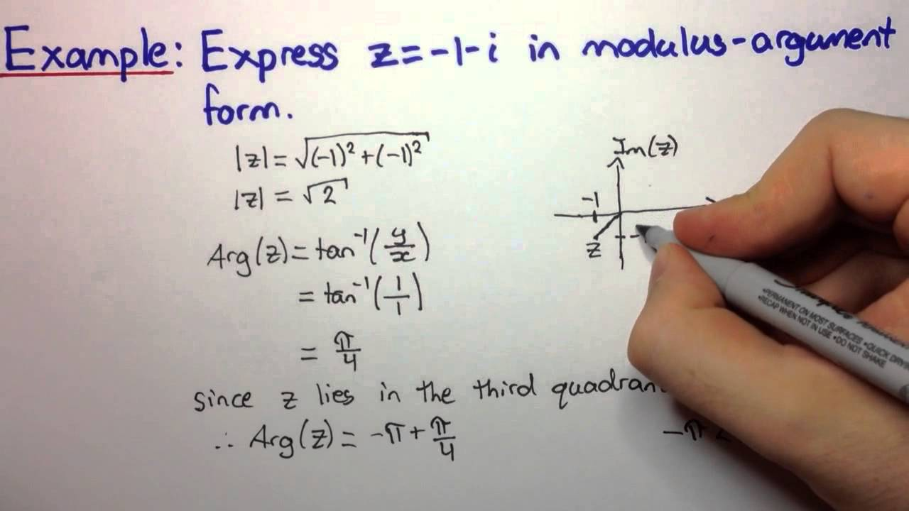 writing complex numbers in standard form Write the complex number in standard form - 10i + i^2.