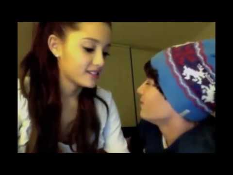 Ariana Grande And Jai Brooks Doing Each Others Make Up