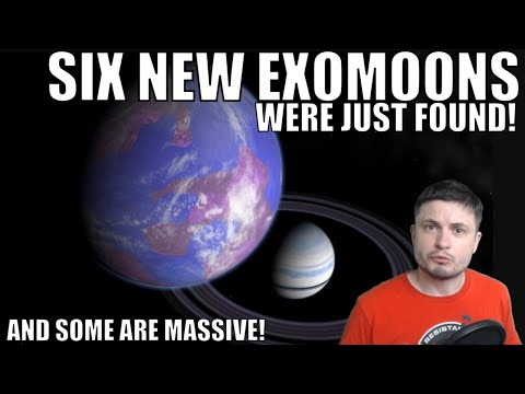 Discovery of 6 New Exomoons Around Distant Planets