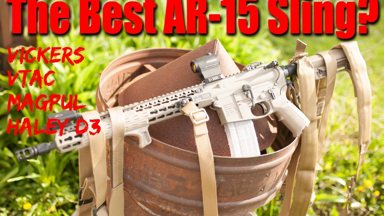 Image result for The Best Rifle Sling? Vtac, Vickers, Magpul, Haley D3, Which One Wins?