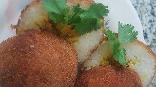 Crunchy Stuffed Rice Balls | Twin Cooking | Arancini | English
