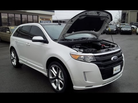 Custom Ford Explorer >> SOLD.2013 FORD EDGE SPORT FWD 6K FORD CERTIFIED WHITE PLATINUM FORD OF MURFREESBORO 888-439-1265 ...