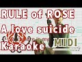 A love suicide〜The theme of RULE of ROSE〜【Off Vocal】