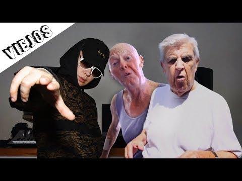 2 ANCIANOS De 90 AÑOS HACEN TRAP (FRANK AND MAURY)