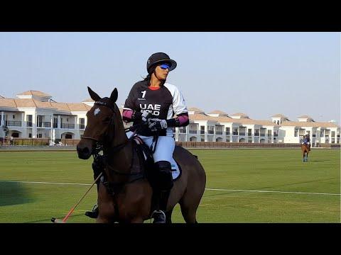 Sheikha Maitha Al Maktoum And The UAE Polo Team | McLaren Cup 2018 Semis Qualifier Game Highlights