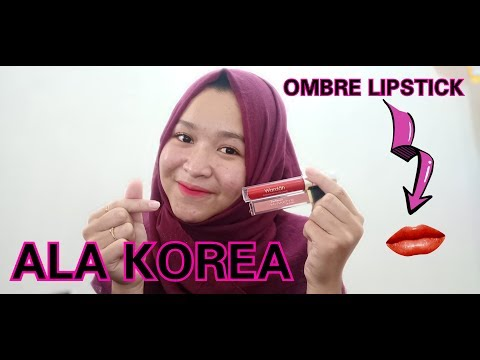 tutorial-ombre-lipstick-ala-korea