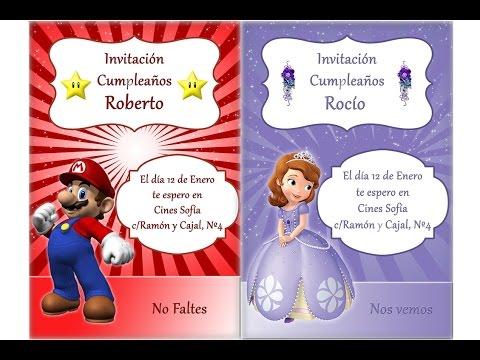 Tutorial Photoshop Español Tarjetas De Felicitación De Cumpleaños
