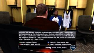 NBA 2K14 - Getting Drafted 1st Overall Pick!