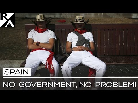 RIGHT ANGLE: SPAIN -- NO GOVERNMENT, NO PROBLEM!