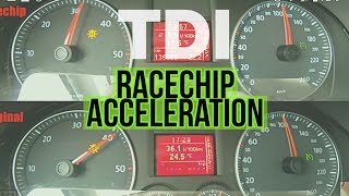 RACECHIP acceleration / chiptuning / Turbo Diesel / VW Touran 2.0 TDI / FMPguides - Solid PASSion /