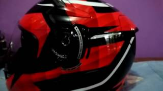 review helm kyt k2rider