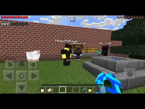 Minecraft Pocket Edition Multiplayer Malaysia /With My Friend/:Battle Of PVP