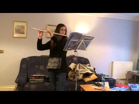 You Raise Me Up on flute