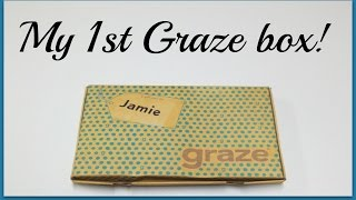 Graze Unboxing - My First Graze Snack Box + Promo Codes!