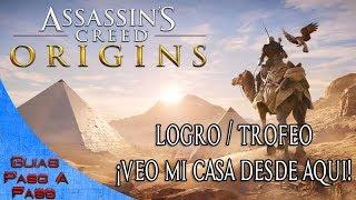Video de Assassin's Creed: Origins | Logro / Trofeo: ¡Veo mi casa desde aquí!
