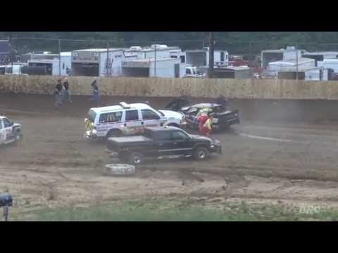 NBTF: Twin Cities Raceway Park | 7.3.15 | Pure Stocks | Bruce / Burton Flip