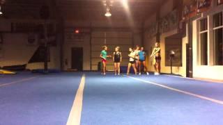 roundoff back handspring whip whip 2 back handspring double full