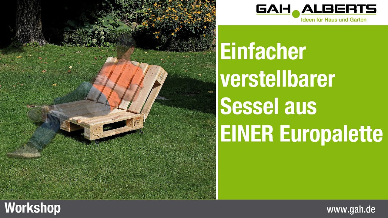 Sessel europalette - Paletten balkonmobel ...