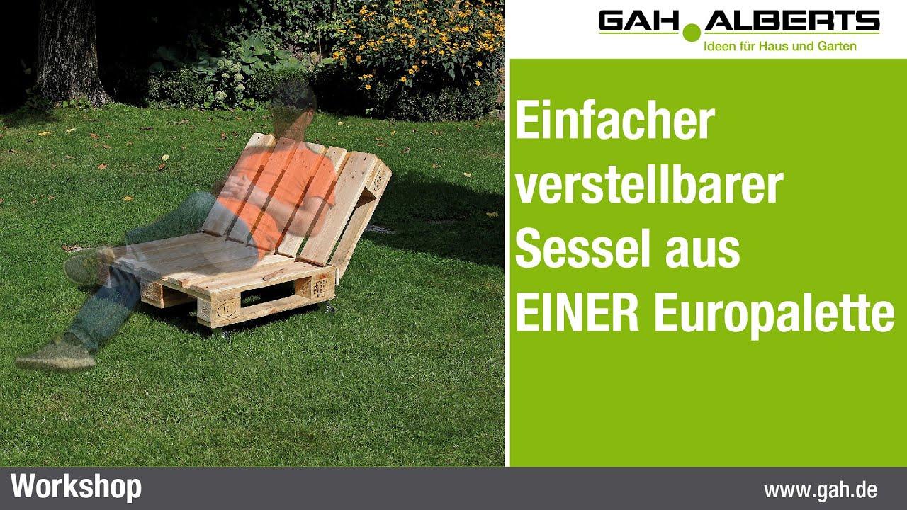 Frisch Gartenbank Aus Paletten Selber Bauen Anleitung Schema