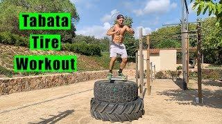 Tabata Tire Workout (w/ Italo Naibo)