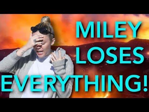 Miley Cyrus & Liam Hemsworth Lose Their Malibu Home To Wildfires