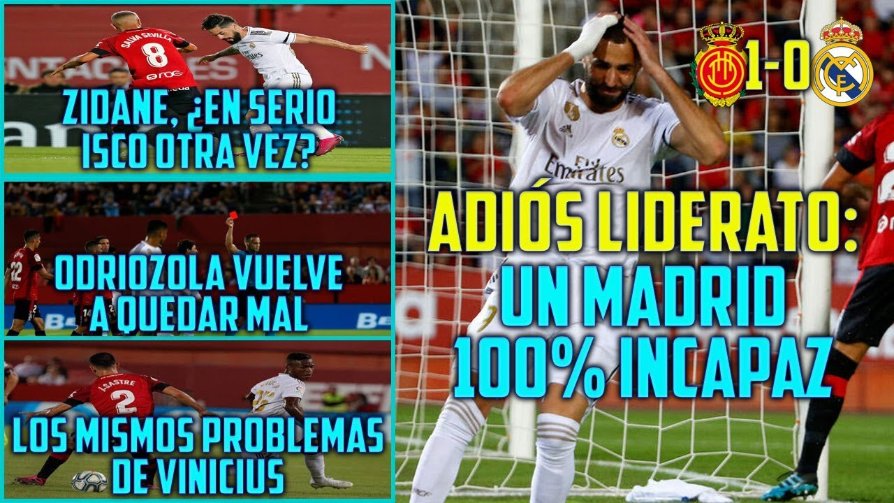 Mallorca deja sin el liderato al Real Madrid en LaLiga