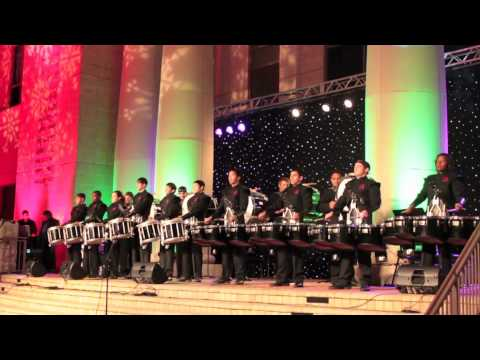 Stephen F. Austin Drum Line - Sugar Land Town Square Christmas Tree Lighting & Stephen F. Austin Drum Line - Sugar Land Town Square Christmas Tree ...