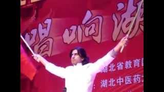 Pakistani guy singing in Chinese language Chinese song 2