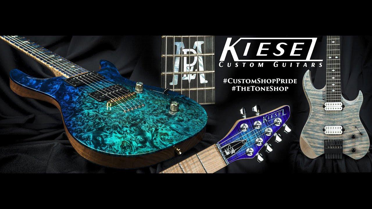 Custom Guitars & Basses, Made in the USA | KieselGuitars com