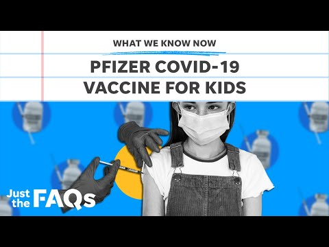 Pfizer says COVID-19 vaccine is safe for kids 5-11   Just the FAQs