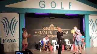 Турция Сиде Maya Golf Club Hotel 2014 анимация мистер отеля
