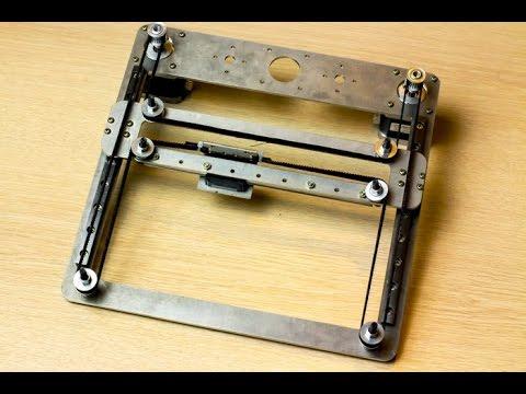 Кинематика 3D принтера H-bot