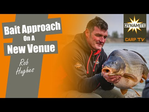 Carp Fishing: Bait Approach On A New Venue With Rob Hughes