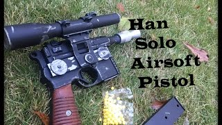 review han solo airsoft pistol star wars dl 44 blaster pistol