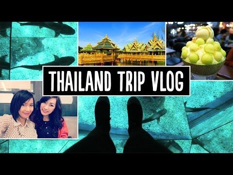 Thailand Trip Vlog - The Ancient City, Sea Life, Madame Tussauds, Food, & Bingsu!~ | Pippopunkie