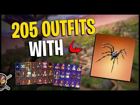 Long Legs Back Bling On 205 Outfits | Commentary | Arachne - Fortnite Cosmetics